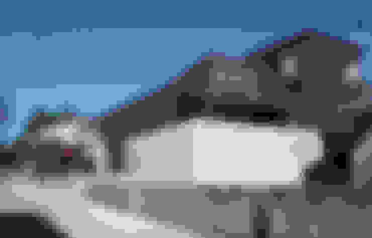 Casas de estilo  por 福田康紀建築計画