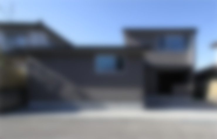 Rumah by 福田康紀建築計画