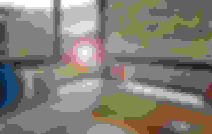 休閒臥榻區:  臥室 by 以恩設計