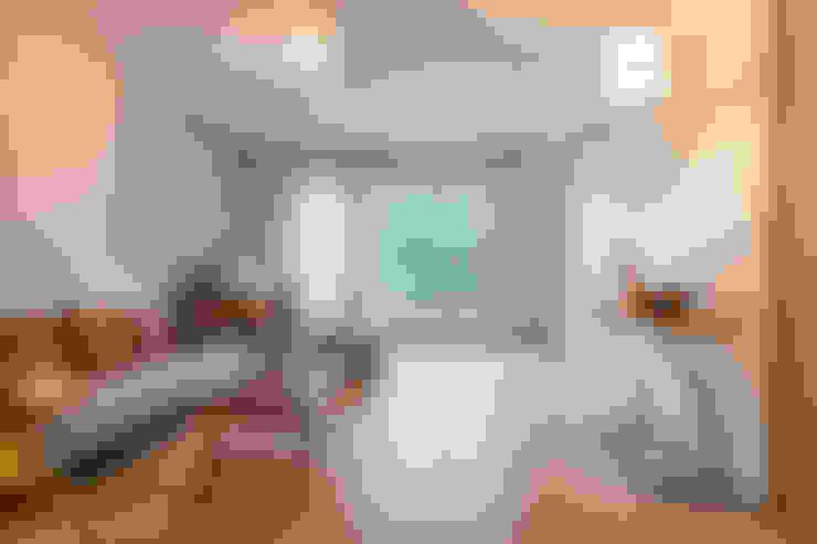 غرفة المعيشة تنفيذ Dominique Paolini Design