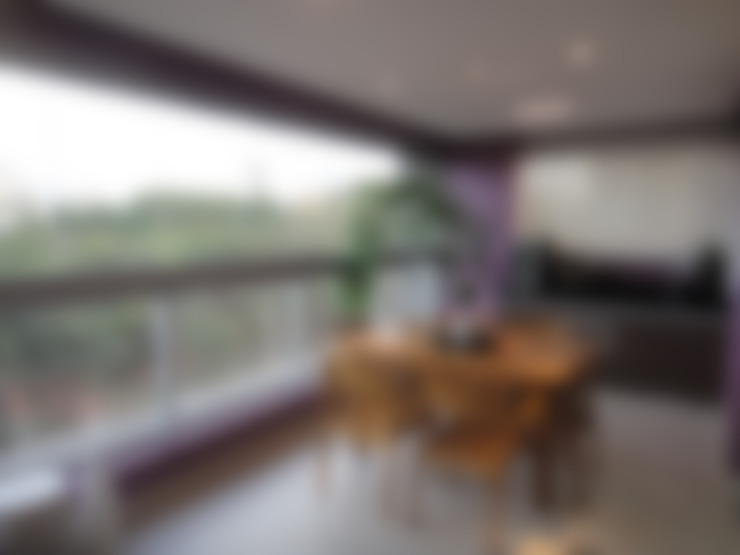 Terrasse de style  par Daniel Di Rezende Bernardes Arquitetura