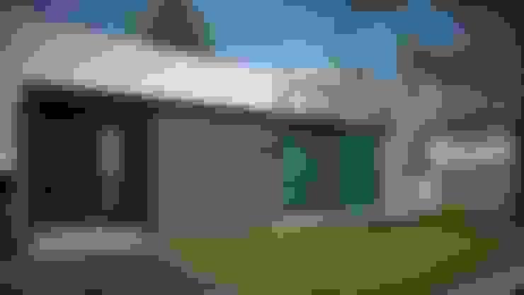 Modelo 3d / Fachada: Casas de estilo  por Estudio Pauloni Arquitectura