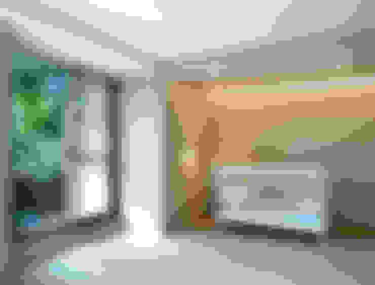 陳宅 Chen Residence:  嬰兒房/兒童房 by  何侯設計   Ho + Hou Studio Architects