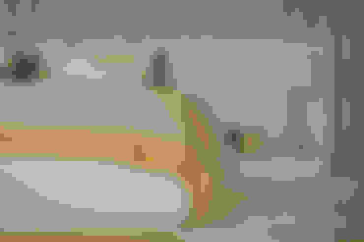 غرفة نوم تنفيذ Fragmentos Design
