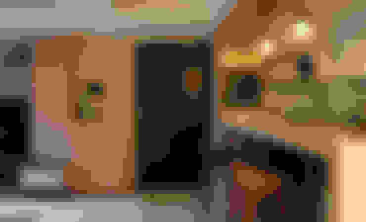 玄關:  走廊 & 玄關 by 漢品室內設計