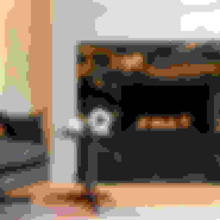 غرفة المعيشة تنفيذ Studio 29 Architects ltd