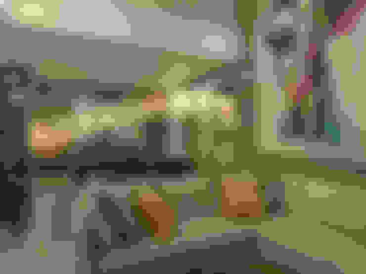 Villas T: Salas / recibidores de estilo  por Taller Interno