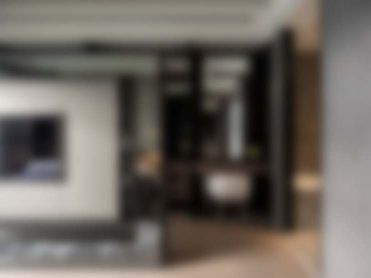長耀挹品:  臥室 by 大觀室內設計工程有限公司