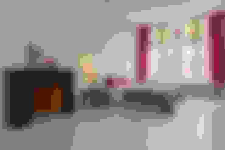Bed van karton:  Slaapkamer door casa&co.