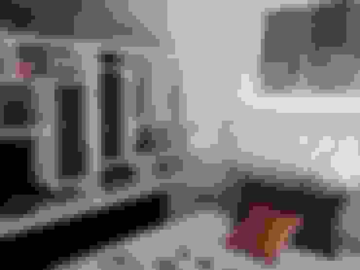 Monoambientes: Dormitorios de estilo  por DOMOS DECORACION HOLISTICA