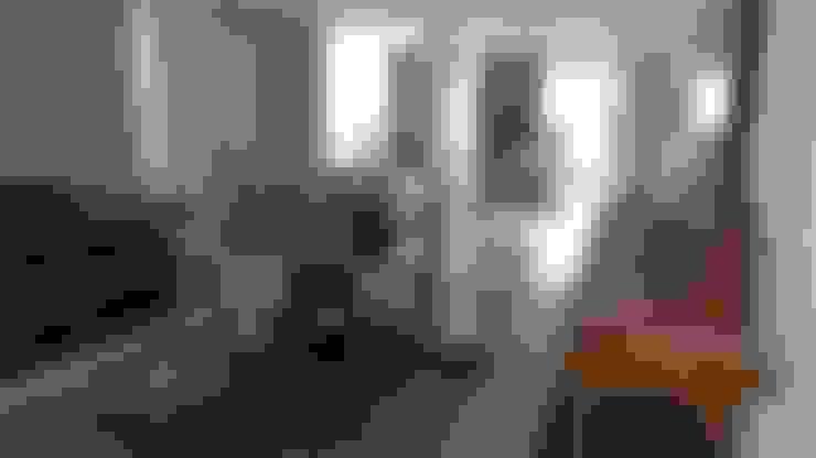 Salas / recibidores de estilo  por Monica Guerra Arquitetura e Interiores