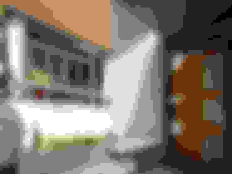 Maisons de style  par 前置建築 Preposition Architecture