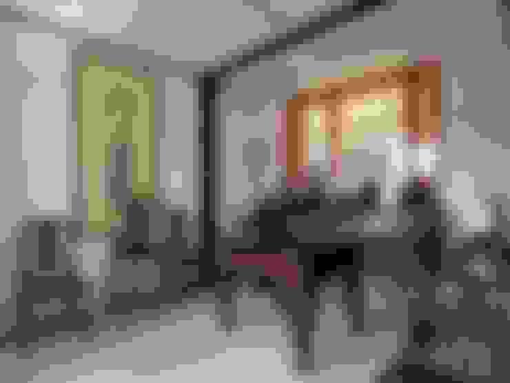 明亮、沉穩、靜定:  走廊 & 玄關 by 前置建築 Preposition Architecture