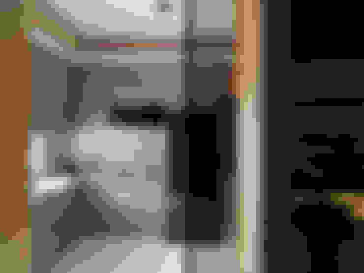竹風低吟:  廚房 by 白金里居  空間設計