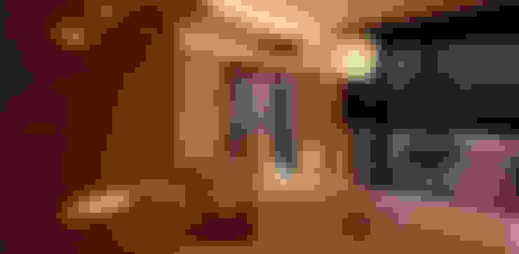住宅(場域 ●界定):  臥室 by 鼎爵室內裝修設計工程有限公司