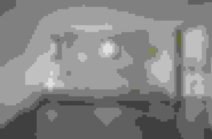 Phòng khách by (주)건축사사무소 코비
