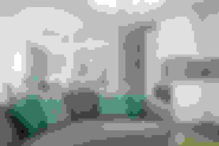 Квартира в Сочи: Гостиная в . Автор – Flatsdesign