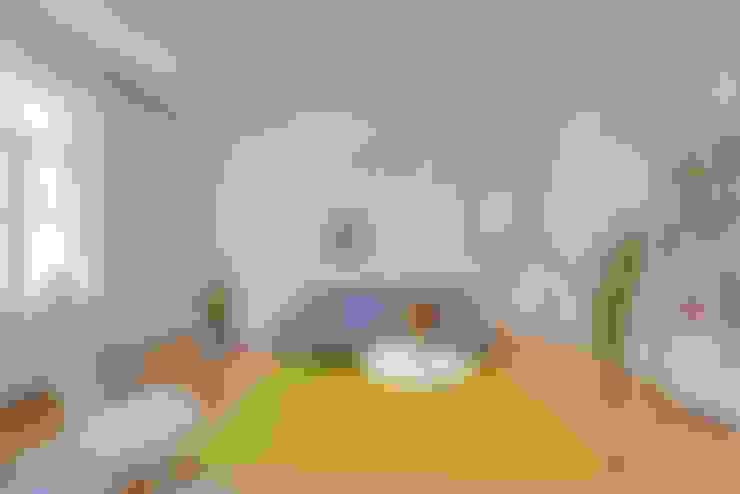 غرفة المعيشة تنفيذ arcs architekten