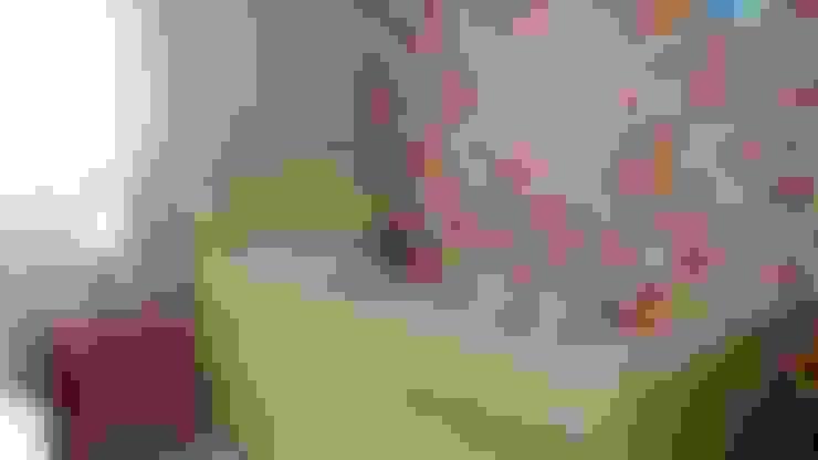 غرفة الاطفال تنفيذ PRISCILLA BORGES ARQUITETURA E INTERIORES