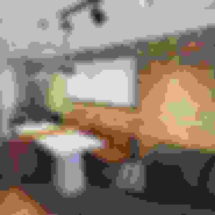Comedor de estilo  por Daleffe e Marques Arquitetura