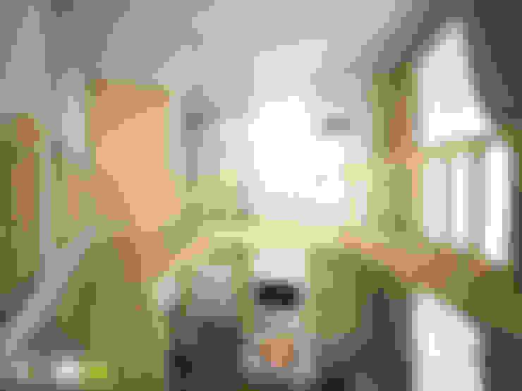 ФРАНЦУЗСКОЕ КАНТРИ: Гостиная в . Автор – Мастерская интерьера Юлии Шевелевой