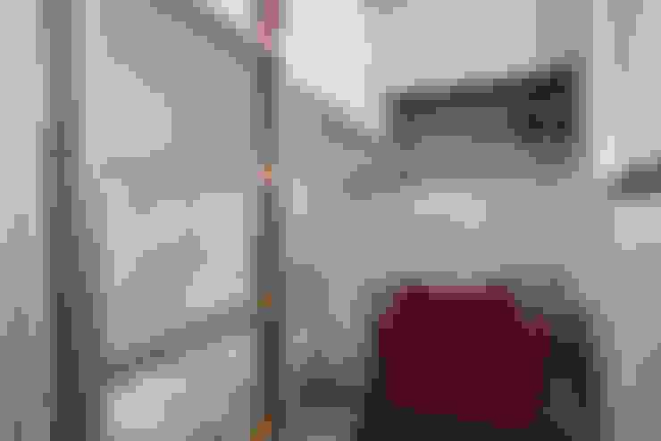 1+1複層趣:  臥室 by 倍果設計有限公司