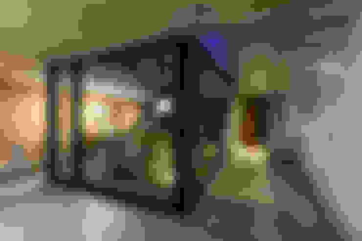 Salas / recibidores de estilo  por BAM! arquitectura