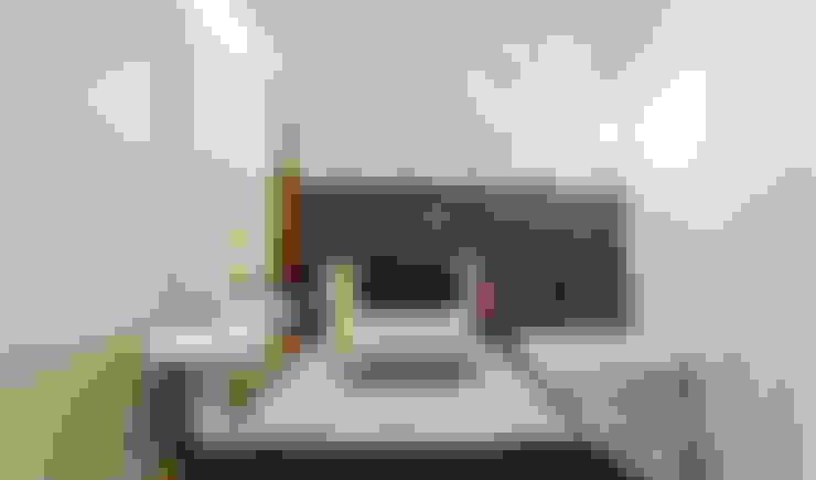 غرفة نوم تنفيذ JANAINA NAVES - Design & Arquitetura