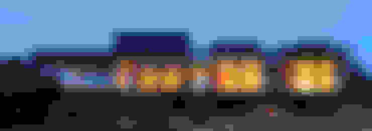 Casa Tunquén: Casas unifamiliares de estilo  por Nicolas Loi + Arquitectos Asociados