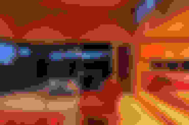 Casa Tunquén: Livings de estilo  por Nicolas Loi + Arquitectos Asociados