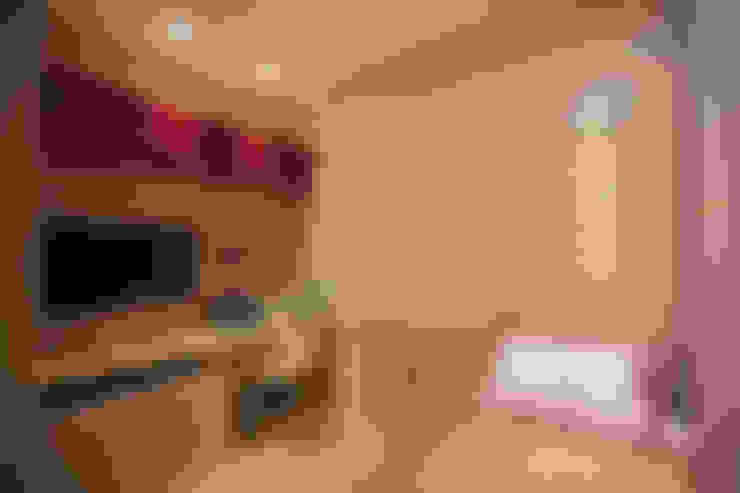 غرفة نوم تنفيذ Deise Maturana arquitetura + interiores