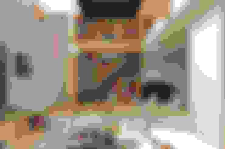 Phòng khách by 藤原・室 建築設計事務所