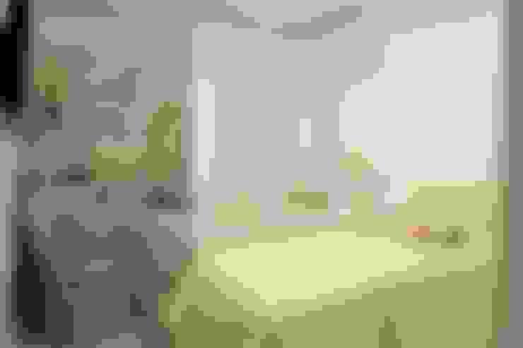 غرفة نوم تنفيذ Camila Araújo Arquitetura e Interiores