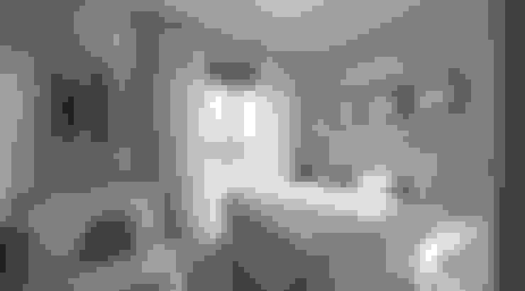 Dormitorios de estilo  por Flávia Kloss Arquitetura de Interiores
