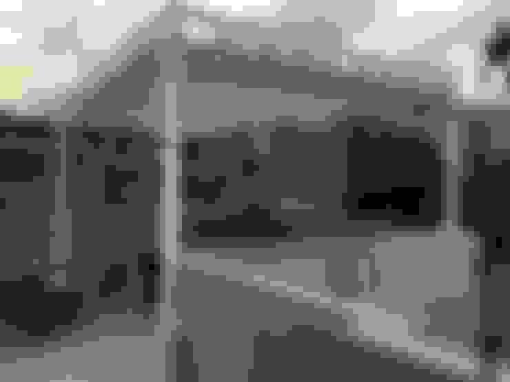Hiên, sân thượng by Materia Viva S.A. de C.V.