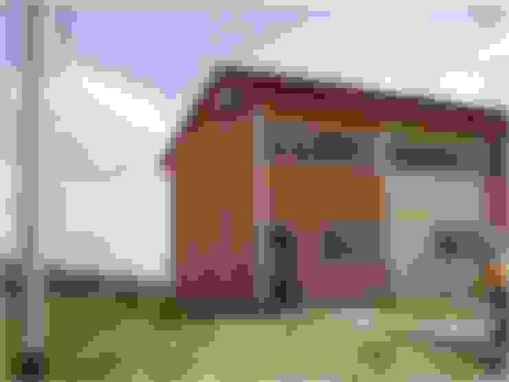 Vivienda original: Casas de estilo  por MARATEA Estudio