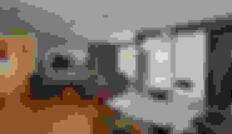 暖意-品味美學宅:  餐廳 by 舍子美學設計有限公司