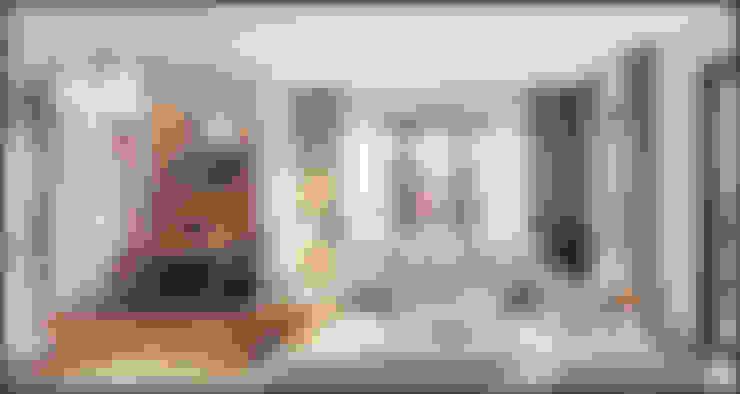 غرفة المعيشة تنفيذ ITALIC DECOR