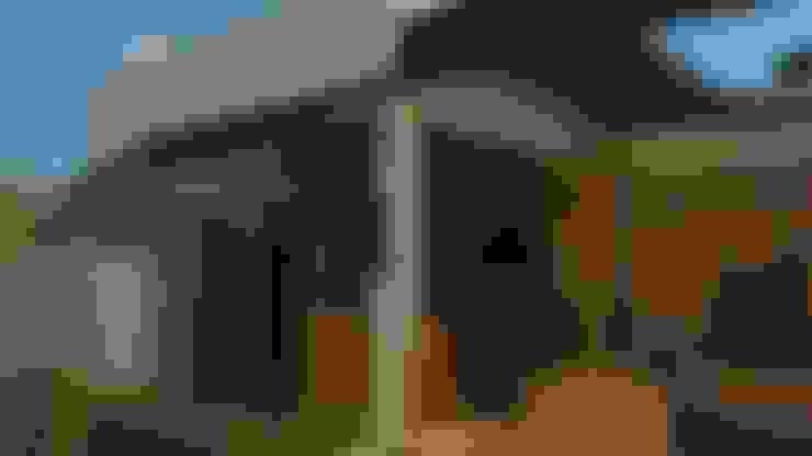 Casas de estilo  por plurAU