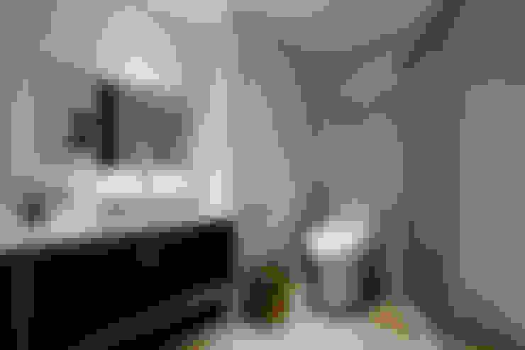 4F客廁:  浴室 by 隹設計 ZHUI Design Studio