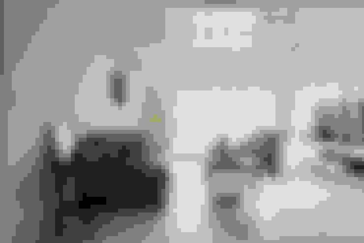 美式生活:  客廳 by 倍果設計有限公司
