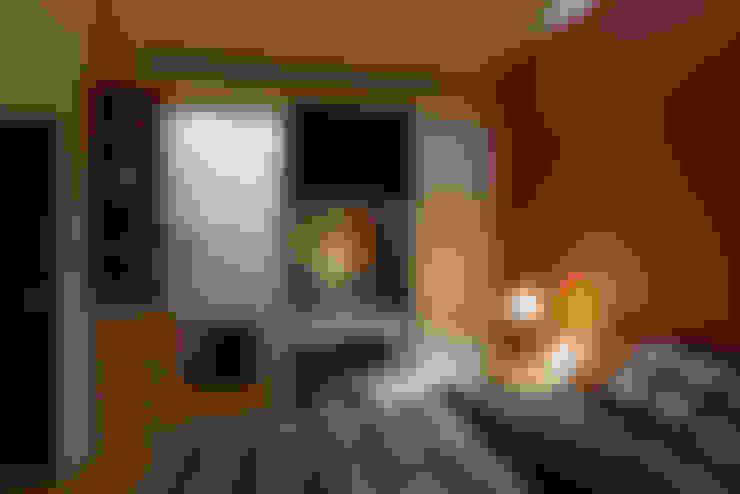 北歐美居:  臥室 by 舍子美學設計有限公司