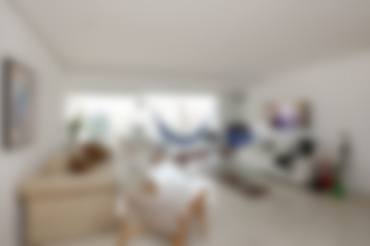 غرفة الميديا تنفيذ Antonio Armando Arquitetura & Design