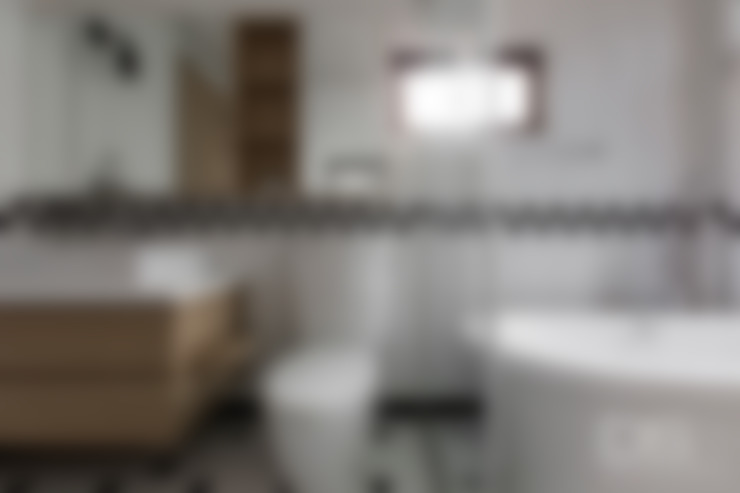 Bathroom by DS亦沐空間創意整合