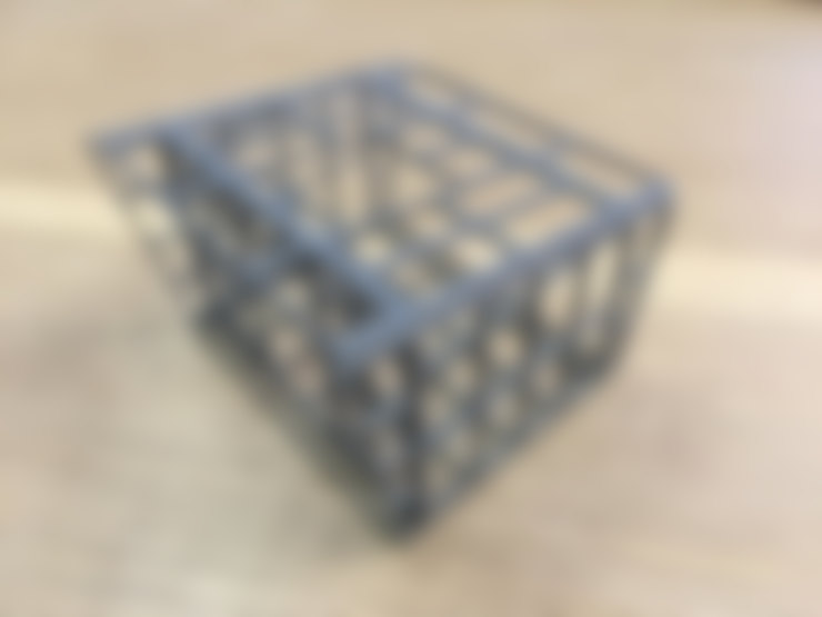 3d print of a structure :   by A4AC Architects
