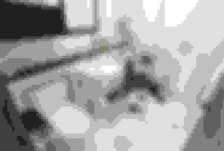 인천 송도 더샵그린스퀘어 38평형: 디자인 아버의  욕실