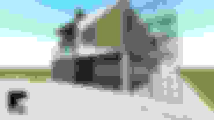 Casas de estilo  de Romarq. Diseño y construcción