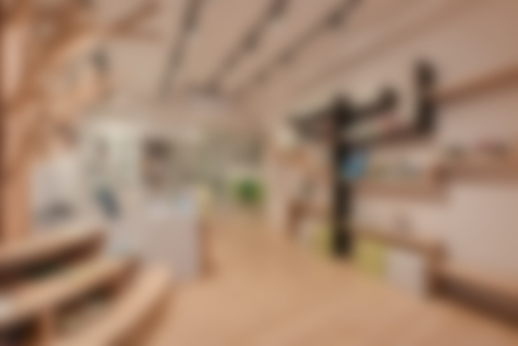 造型書架:  辦公室&店面 by 存果空間設計有限公司
