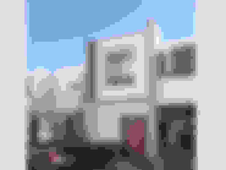 Casas de estilo  por Arquitectura-Construcciòn Godwin