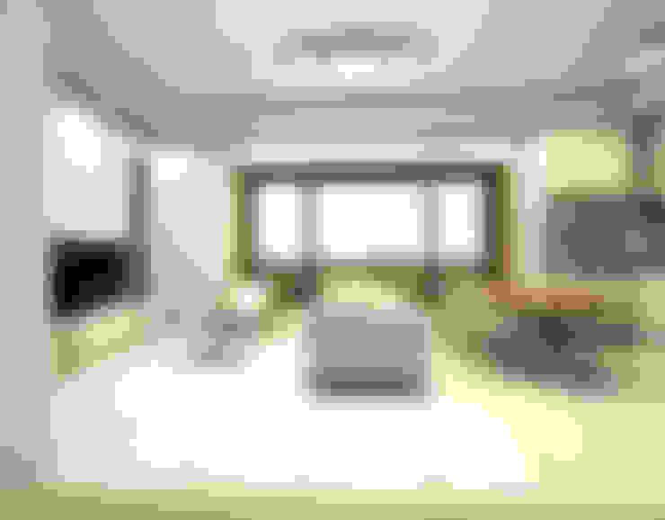 보령전원주택: 디자인 이업의  거실